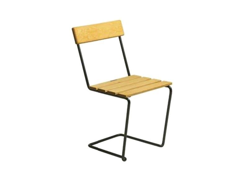 Sled base garden chair S1 | Garden chair by Grythyttan