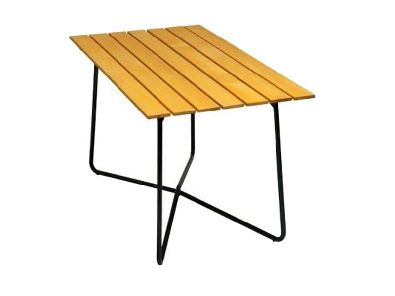 Rectangular garden table B25A 120 | Garden table by Grythyttan