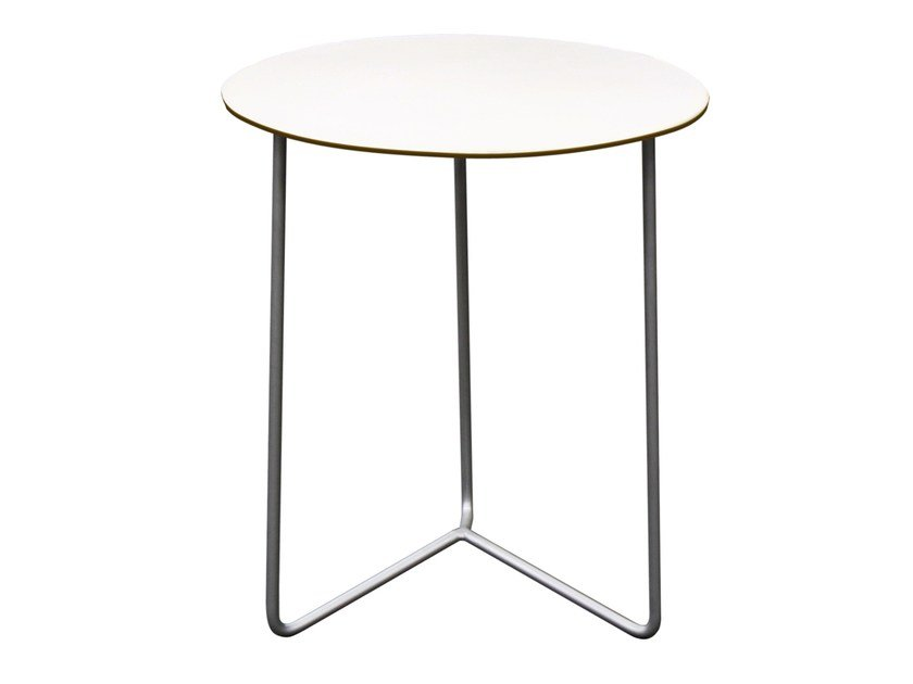 Round garden side table HIGH TECH | Garden side table by Grythyttan
