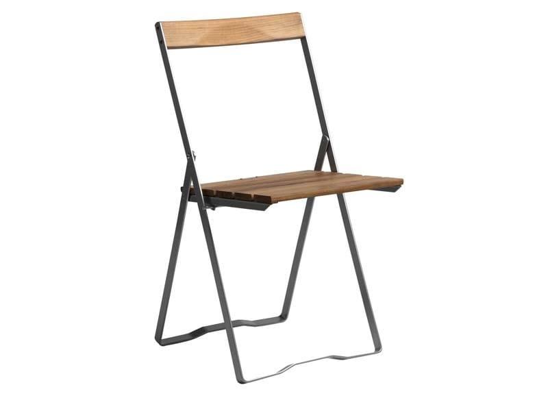 Folding garden chair 5   Garden chair by Grythyttan