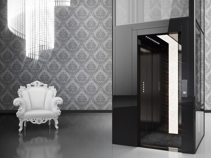 House lift DomusLift MADE WITH SWAROVSKI® ELEMENTS by IGV GROUP