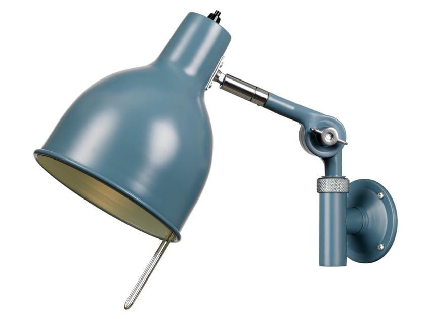 Adjustable enamelled metal wall lamp PJ71 by Örsjö Belysning