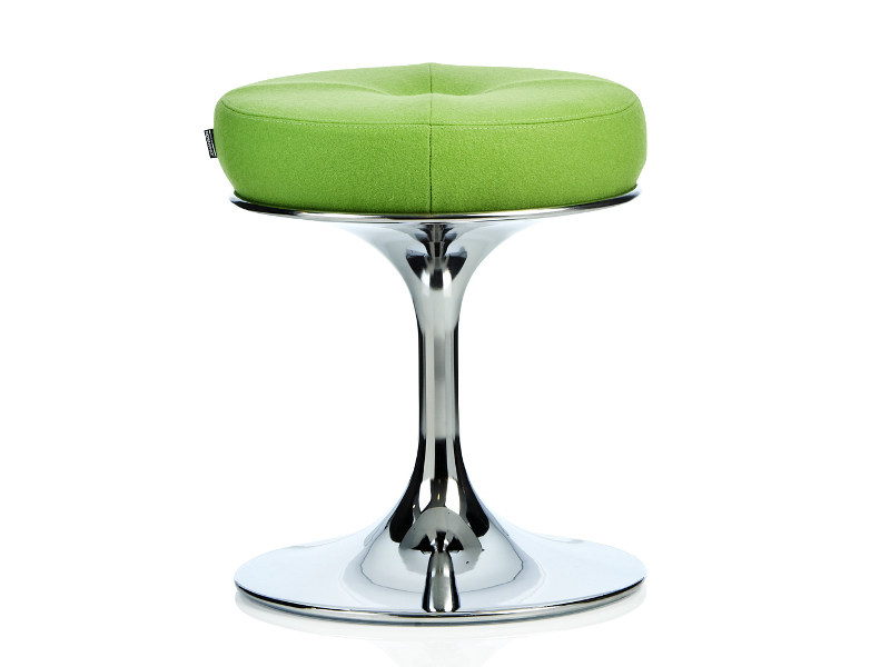 Low upholstered stool SATELLITE | Low stool by Johanson Design
