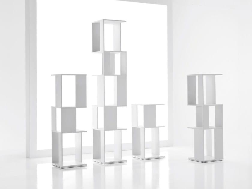 Open bookcase CUBIC by Bonaldo