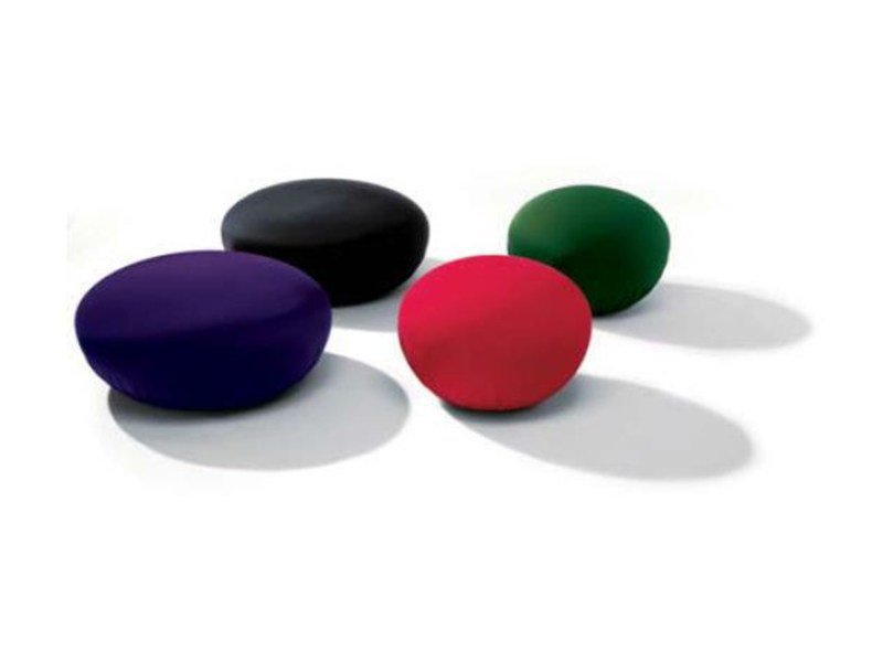 Upholstered pouf with removable lining HOLLYWOOD by Bonaldo