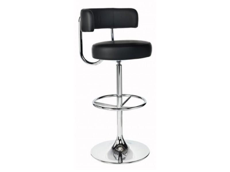 Height-adjustable swivel upholstered stool JUPITER   Stool by Johanson Design