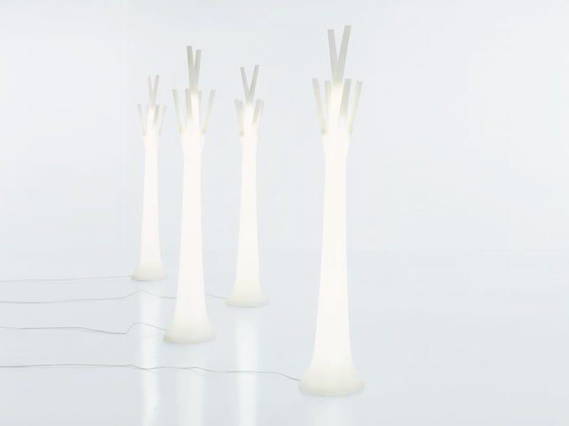 Floor lamp / coat rack TREE LIGHT by Bonaldo
