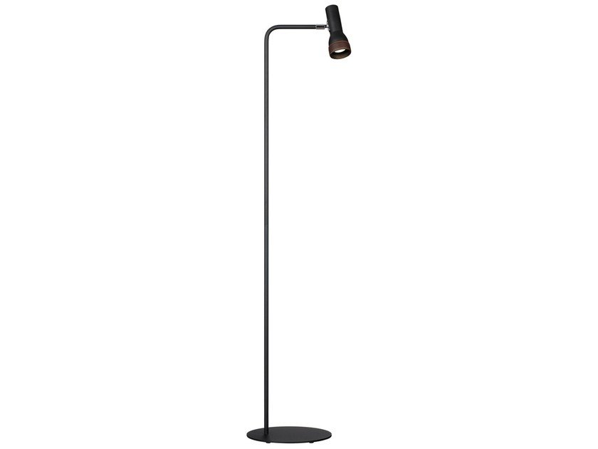 Enamelled metal floor lamp TALK | Floor lamp by Örsjö Belysning