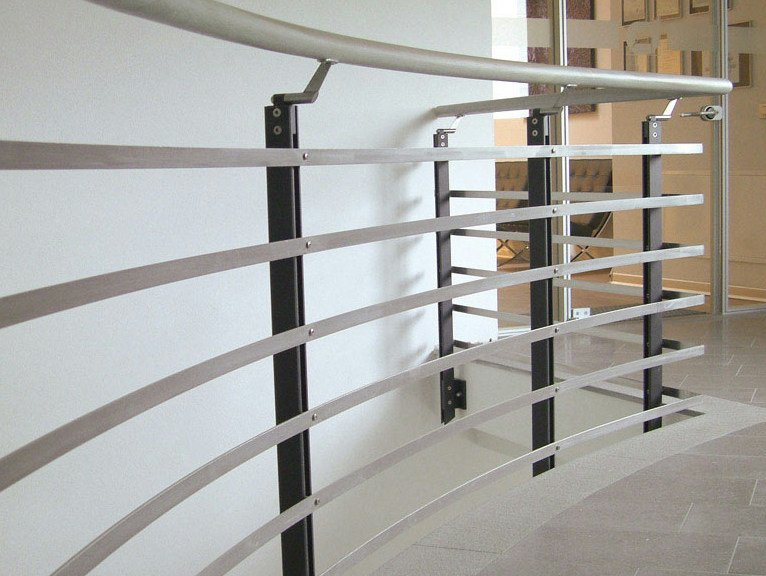 Stainless steel balustrade STEP SYSTEM by WOLFSGRUBER
