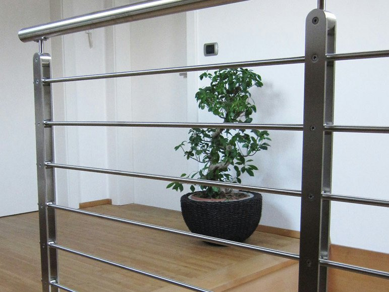 Stainless steel balustrade TWIN PLUS by WOLFSGRUBER