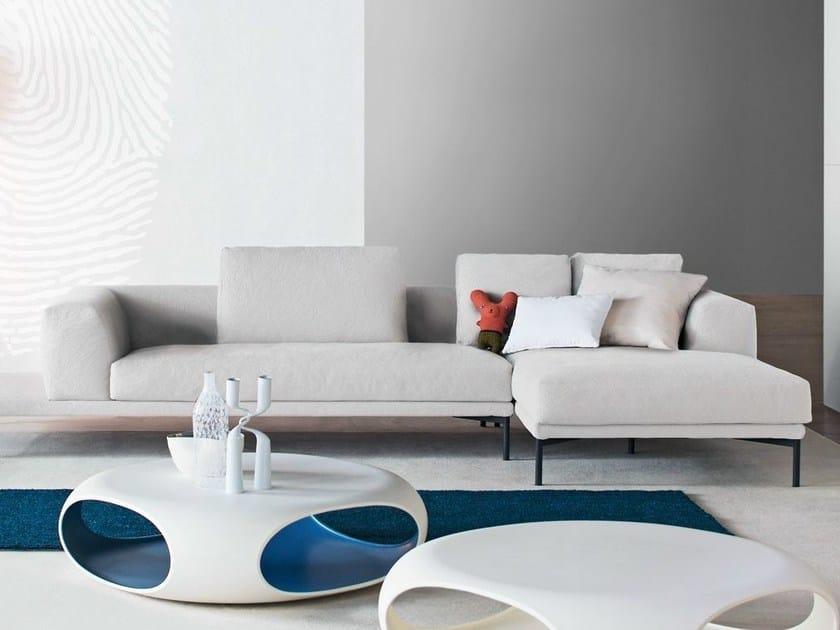 Sectional sofa with chaise longue MARC-U   Sofa with chaise longue by Bonaldo