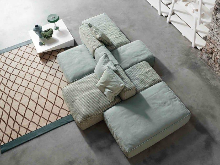 Sectional sofa PEANUT | Sofa by Bonaldo