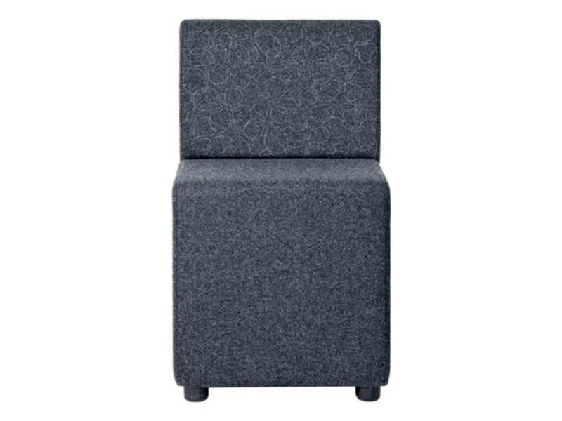 Modular guest chair BILL W BACK by Johanson Design