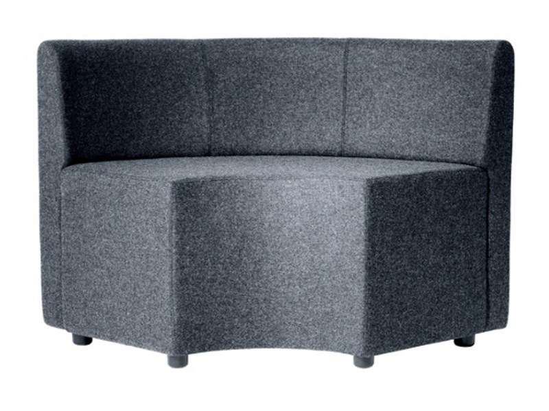 Sectional sofa BOND WITH BACK LONG by Johanson Design