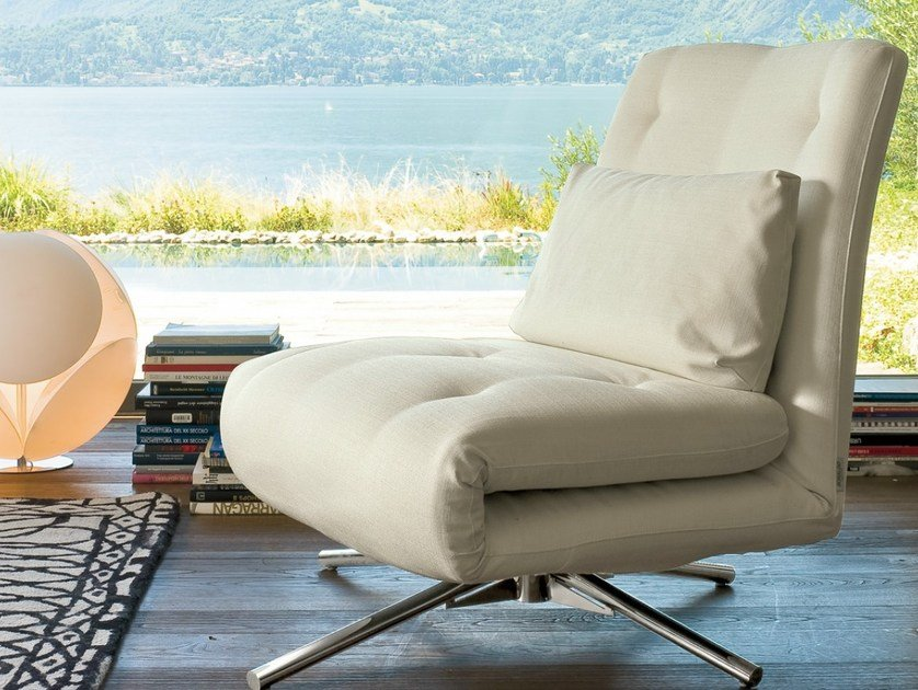 Upholstered armchair bed BENNY by Bonaldo