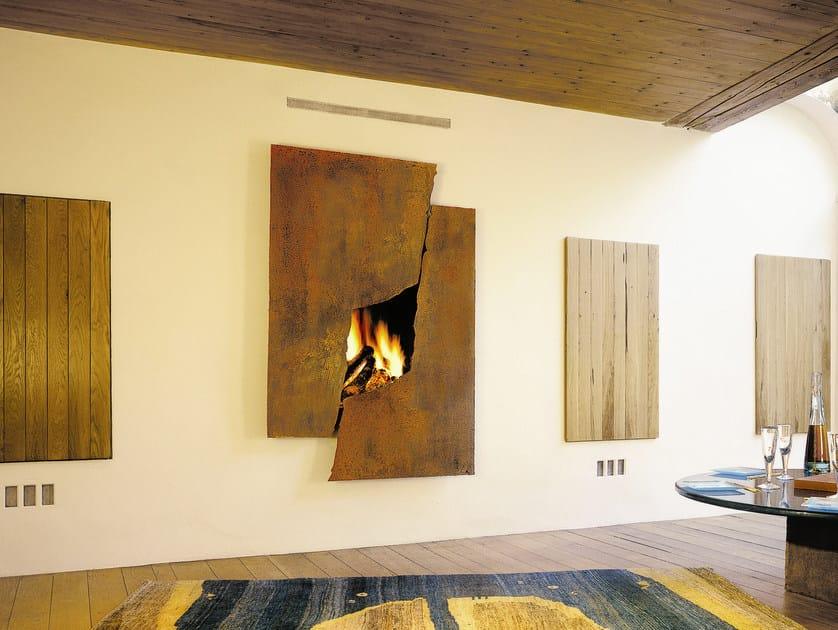 Steel Fireplace Mantel MÉtafocus 6 By Focus Creation