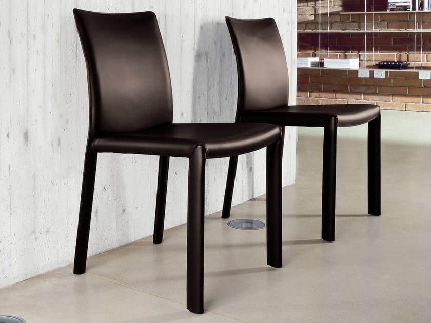 Upholstered chair ANGEL by Bonaldo