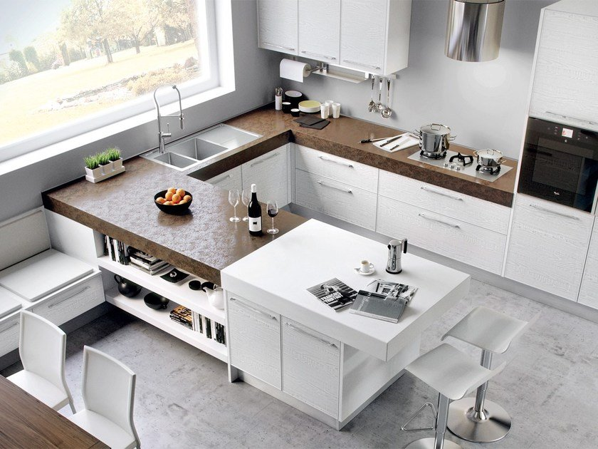 ADELE PROJECT | Kitchen By Cucine Lube