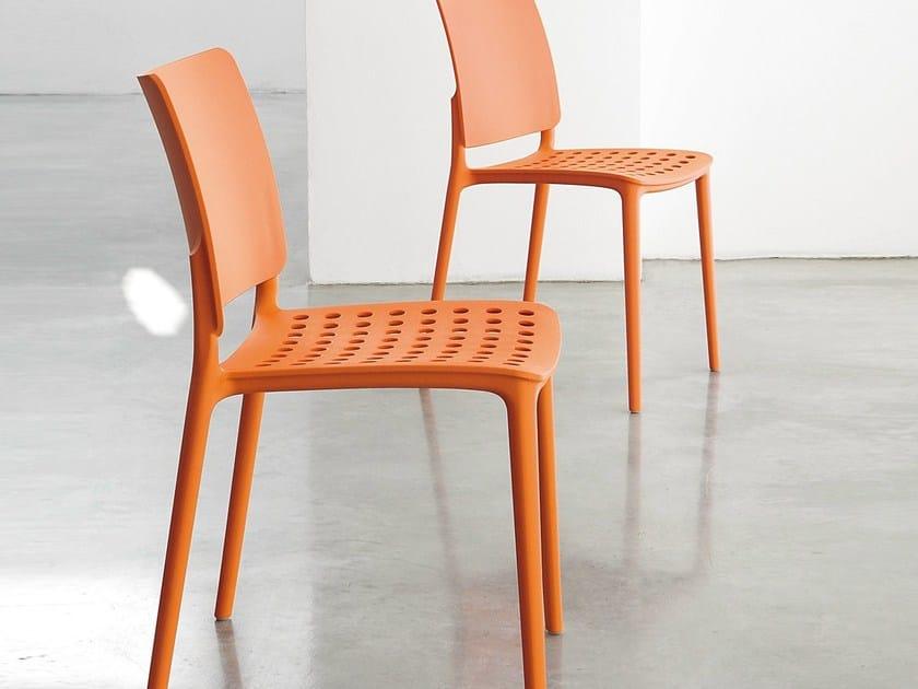 Polypropylene chair BLUES | Polypropylene chair by Bonaldo