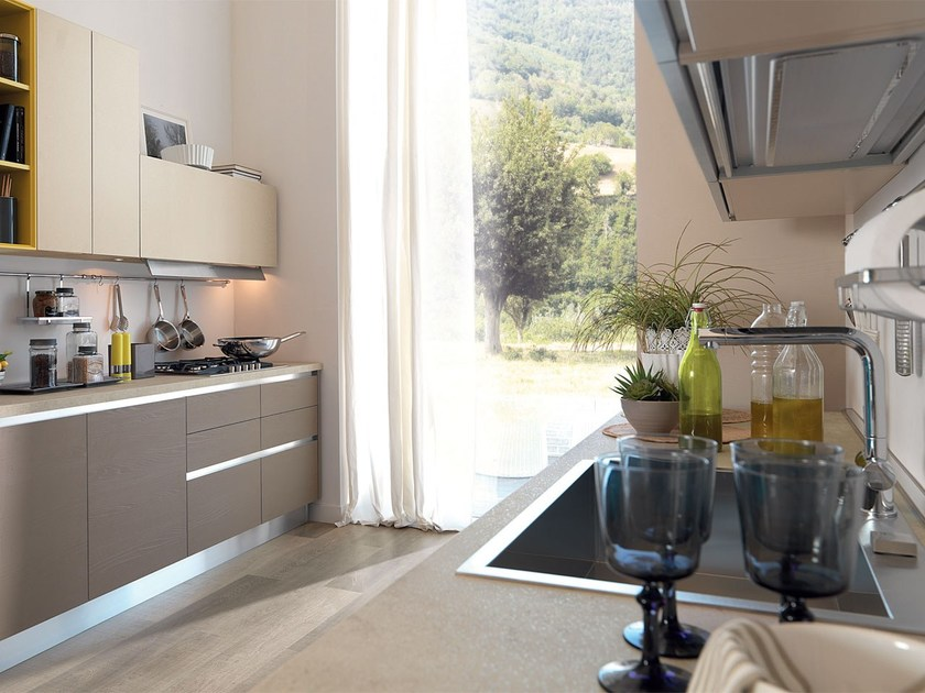 ESSENZA | Kitchen without handles By Cucine Lube