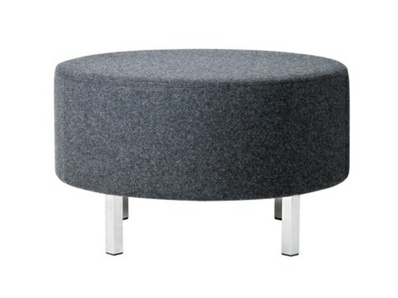 Upholstered fabric pouf O-70 by Johanson Design