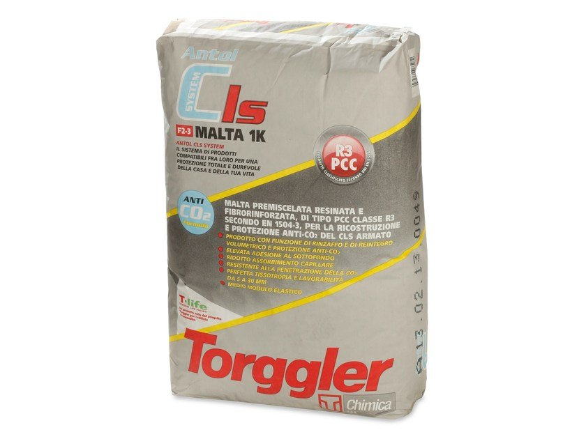 Mortar and grout for renovation ANTOL CLS SYSTEM MALTA 1K by Torggler Chimica