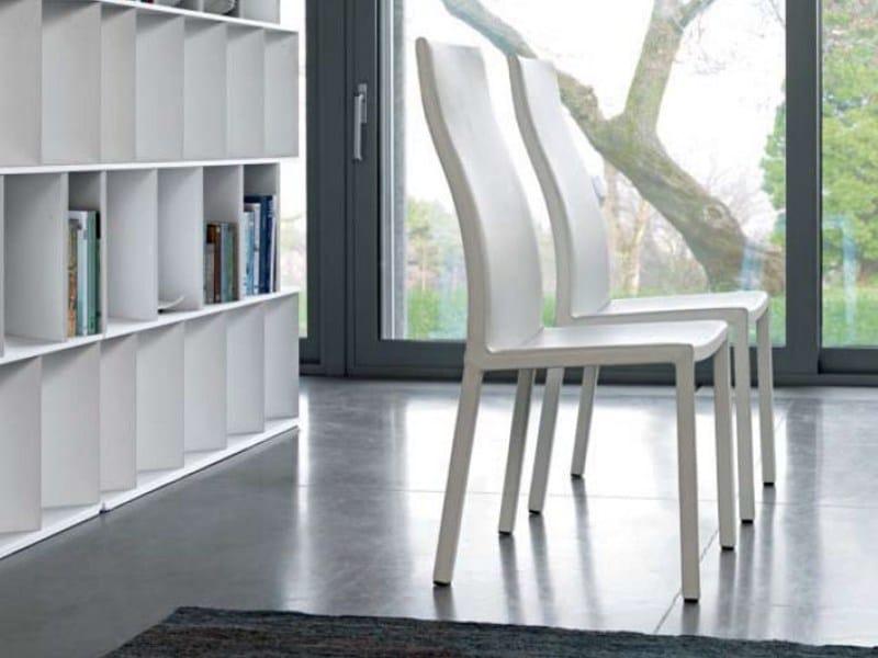 High-back chair MILENA by Bonaldo