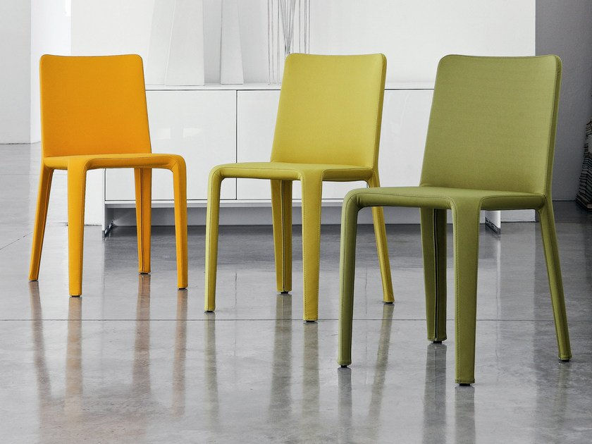 Upholstered chair MY TIME by Bonaldo
