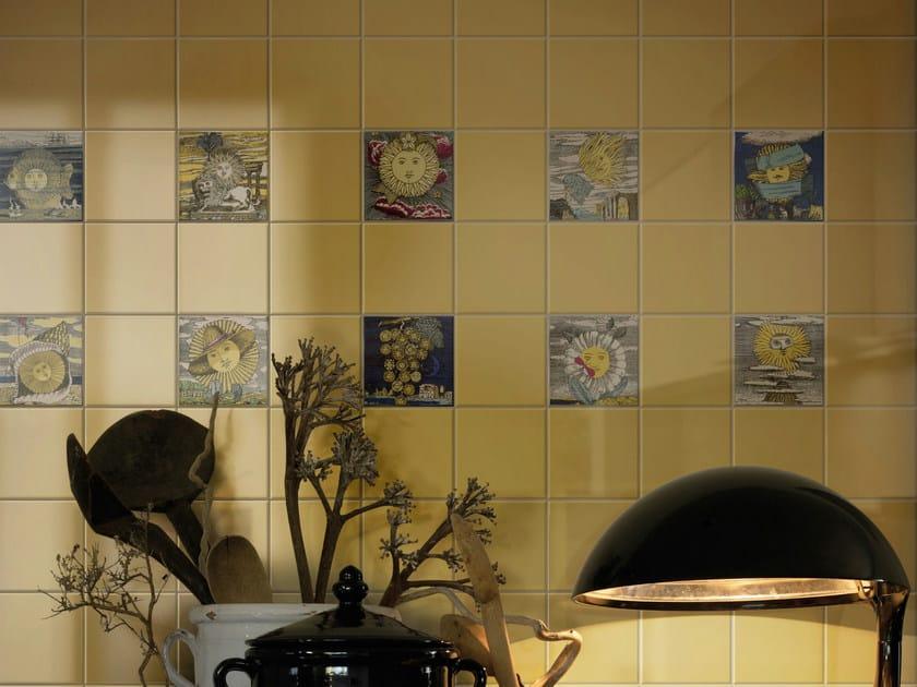 Ceramic wall tiles LUNARIO DEL SOLE by Ceramica Bardelli