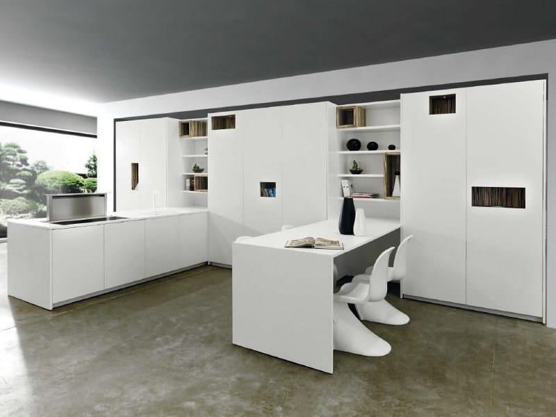 MONDRIAN | Corian® kitchen By TM Italia Cucine design Roberto Semprini