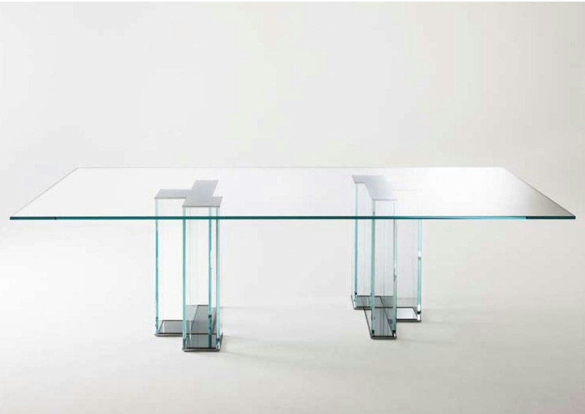 Crystal table EVER by Gallotti&Radice