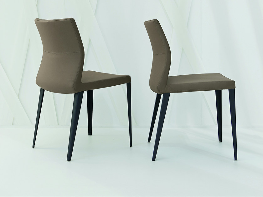 Upholstered Fabric Chair With Removable Cover RAZOR By Bonaldo