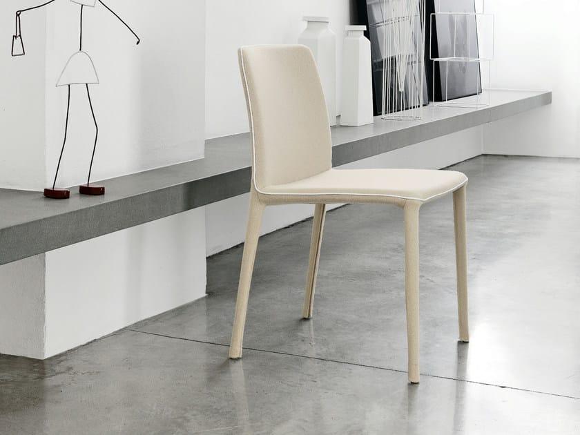 Upholstered chair REST by Bonaldo