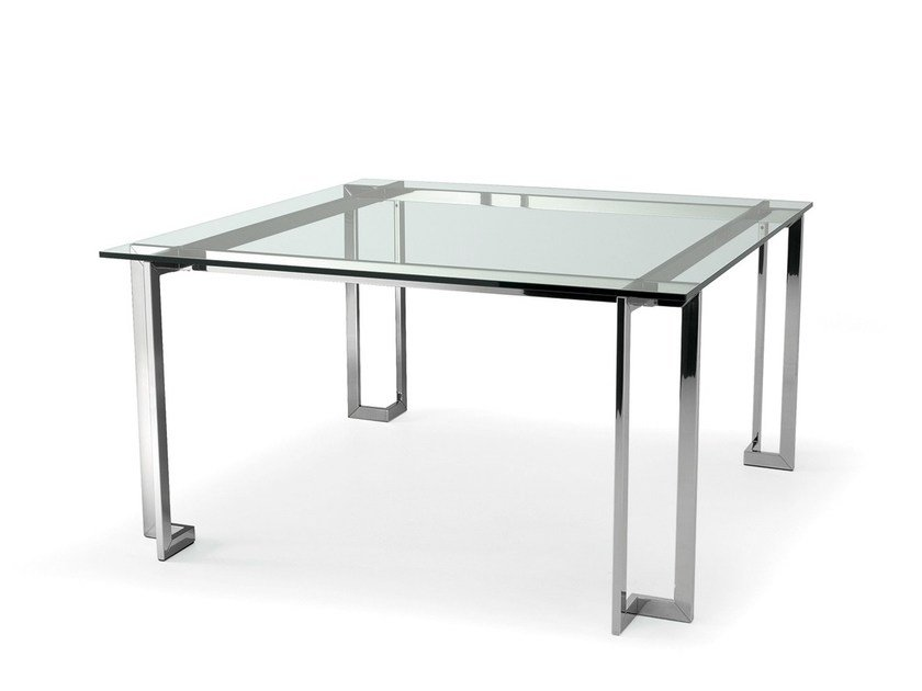 Crystal meeting table LORD by Gallotti&Radice