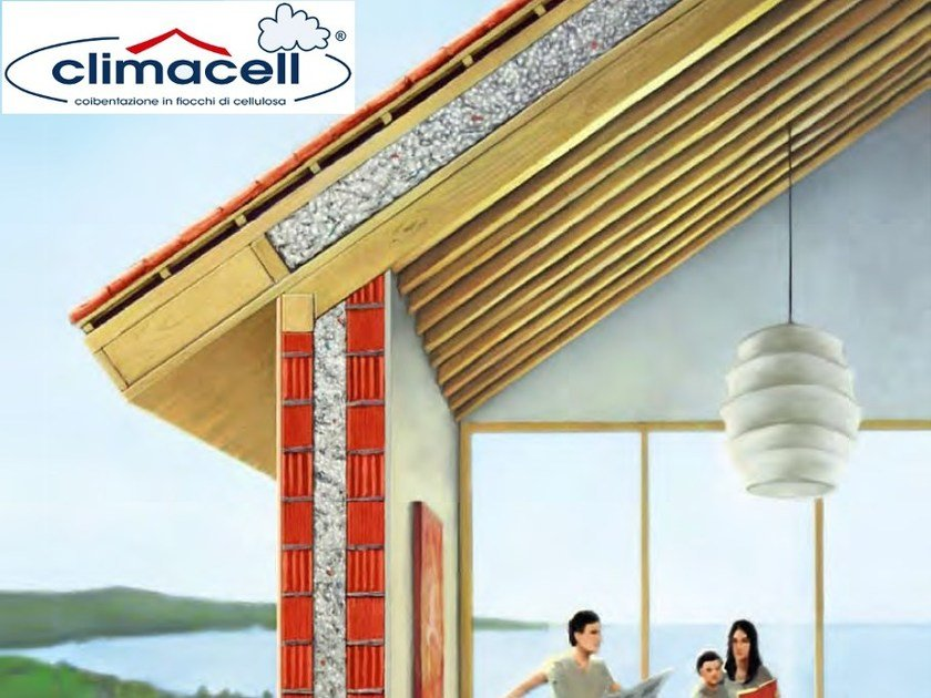 Insulation cellulose flakes climacell® by Climacell