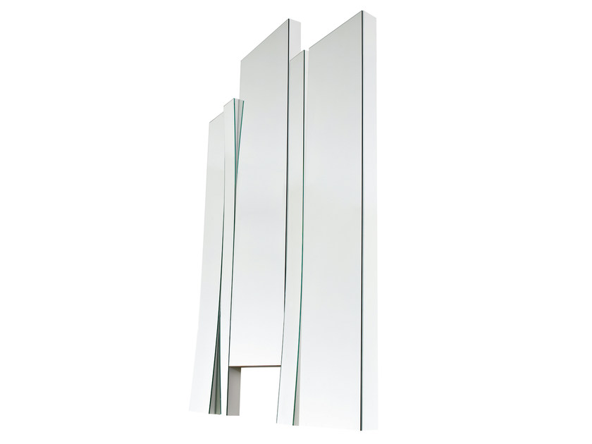 Rectangular mirror CHANGES 09 by Gallotti&Radice