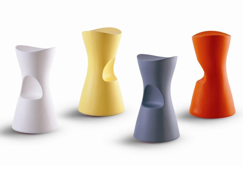 Polyethylene stool SKOOP by Bonaldo