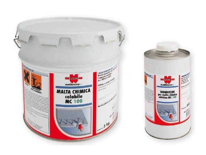 Malta chimica colabile MC 100