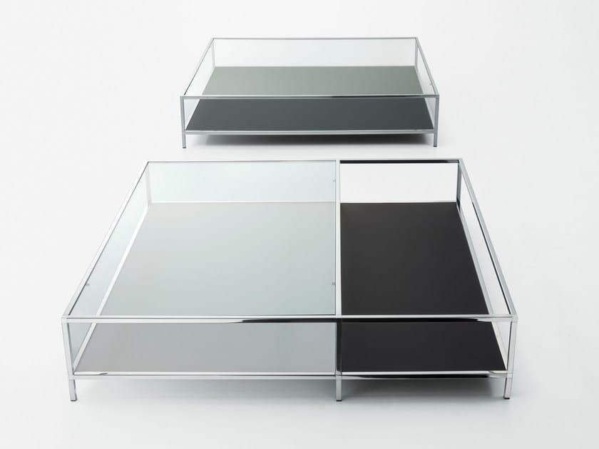 Low crystal coffee table FARADAY by Gallotti&Radice