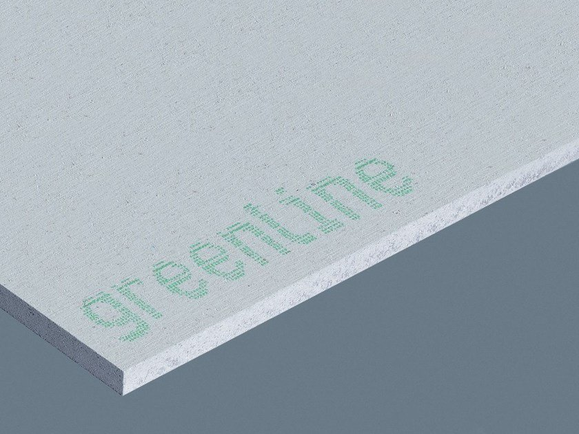 Plasterboard partition GREENLINE | Gypsum fiber Natural insulating felt and panel for sustainable building by Fermacell