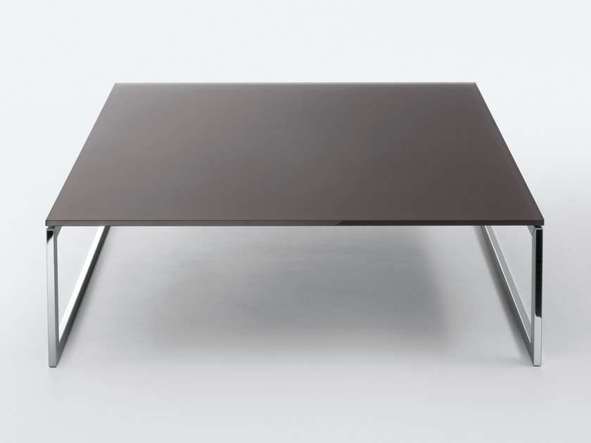 Rectangular crystal coffee table SQUARE by Gallotti&Radice