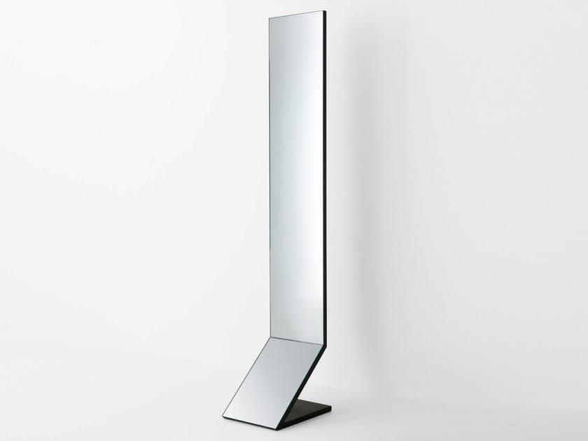 Freestanding mirror ZED by Gallotti&Radice