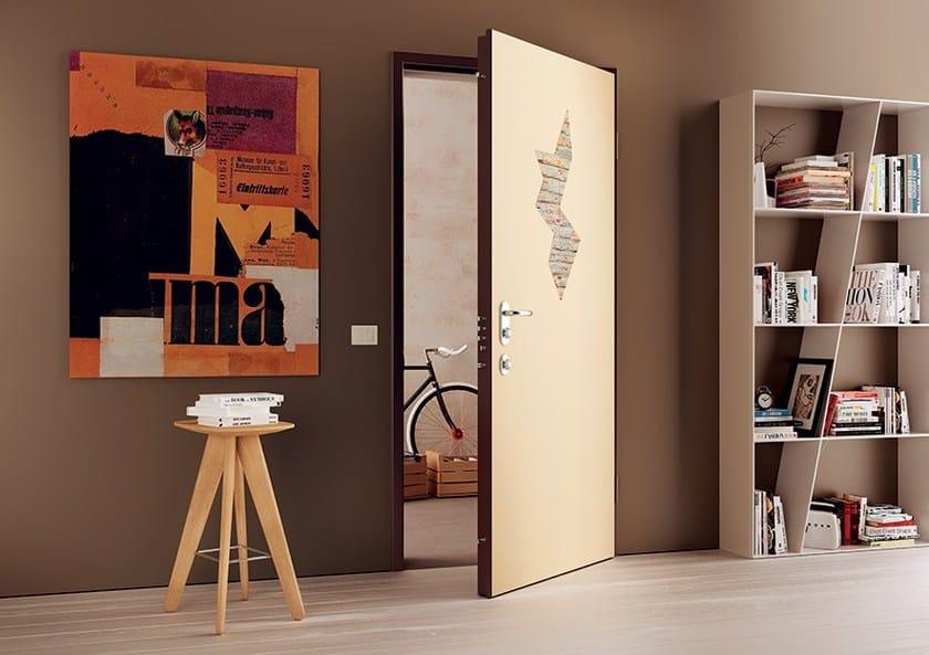 Safety door SEGRETA By DiBi Porte Blindate
