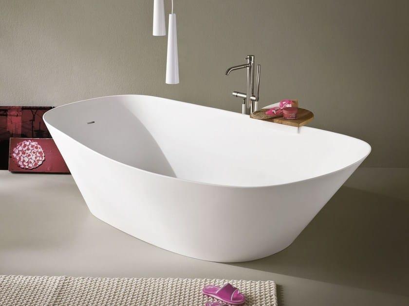 Vasca da bagno centro stanza ovale in Korakril™ FONTE | Vasca da bagno centro stanza by Rexa Design