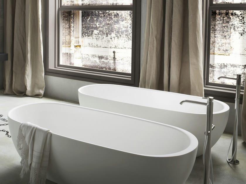 Vasca da bagno ovale in Korakril™ HOLE | Vasca da bagno by Rexa Design