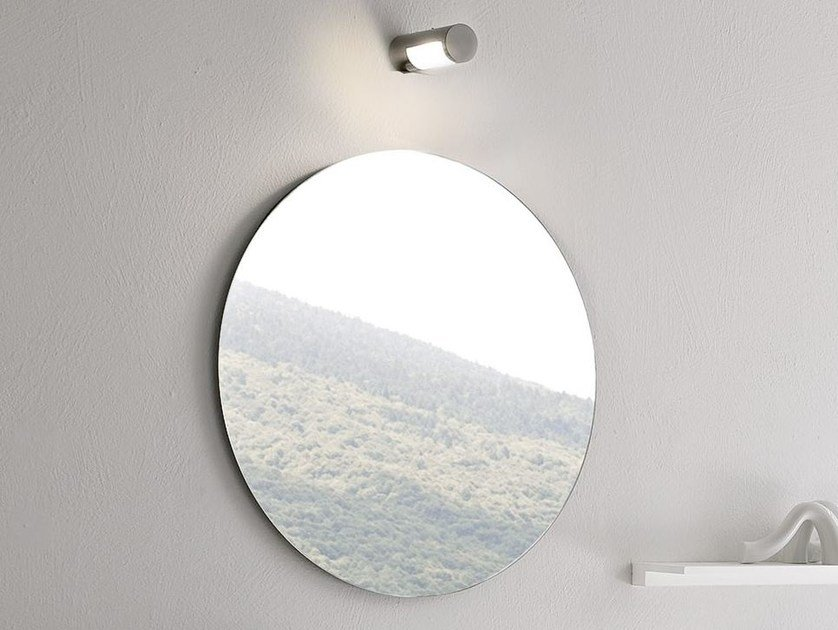 Specchio rotondo per bagno FILOLUCIDO by Rexa Design