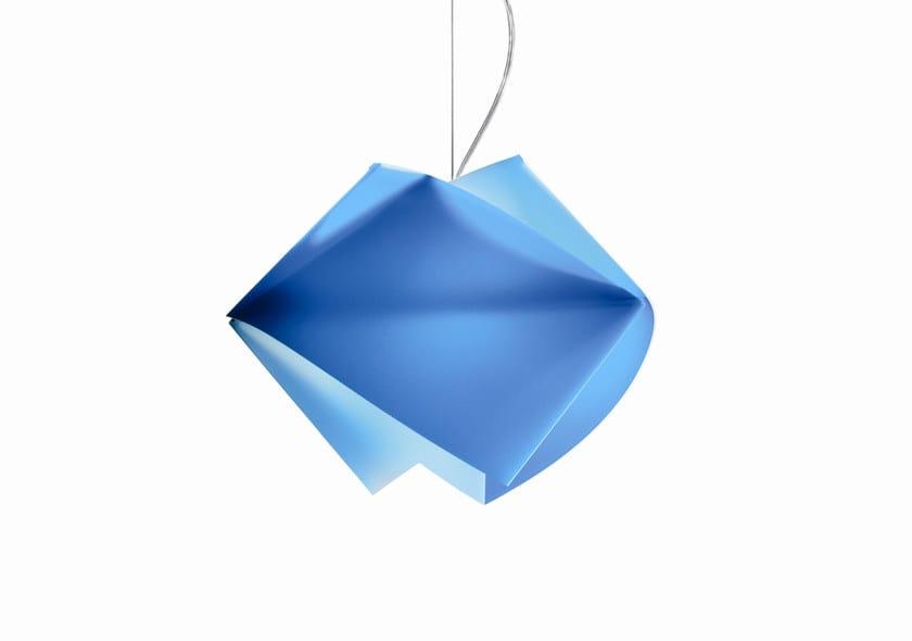 Lampada a sospensione a luce diretta in Lentiflex® GEMMY by Slamp