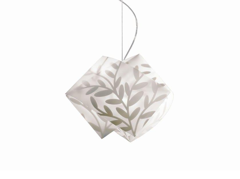 Direct light Lentiflex® pendant lamp GEMMY DAFNE by Slamp