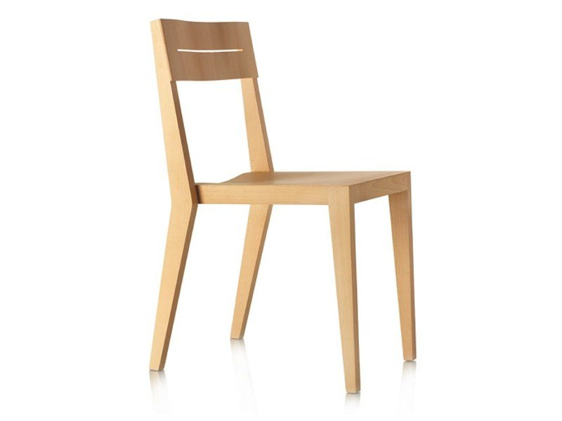 Beech chair SIT by Zilio A&C
