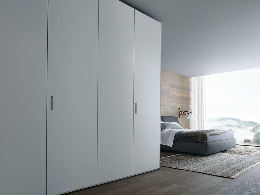 Lacquered oak wardrobe NEW ENTRY | Wardrobe by poliform